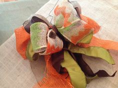 Fall bow- Clenney Kasso Creatives