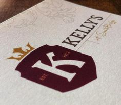 Extensive selection of craft beers, wine and specialty cocktails. Warm, inviting and unpretentious so you will always feel welcome. Come join the Kelly's family!