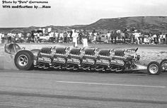 12 Blown motors in a dragster....look, if you wonder or have to ask, then you cannot possibly understand!!!!