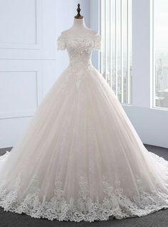 Wedding Dress Tea Length, Boat Neck Wedding Dress, Long Sleeve Wedding, Western Wedding Dresses, Dream Wedding Dresses, Bridal Dresses, Wedding Gowns, Modest Wedding, Trendy Wedding