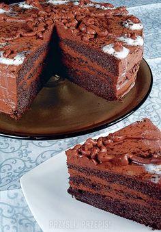 Tort makowo-czekoladowy Tiramisu, Ale, Good Food, Sweets, Baking, Ethnic Recipes, Desserts, Gourd, Food