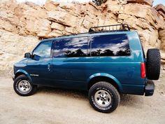 CUSTOM BUILT AWD ASTRO OR SAFARI EXPEDITIONVANS AT JOURNEYS OFF ROAD SHOP IN PRESCOTT AZ
