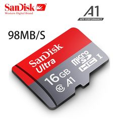SanDisk micro sd 128GB 64GB 32GB 16GB 90mb/s  Price: 9.95 & FREE Shipping #computers #shopping #electronics #home #garden #LED #mobiles #rc #security #toys #bargain #coolstuff  #headphones #bluetooth #gifts #xmas #happybirthday #fun Flash Memory, Sd Card, Happy Birthday, Cool Stuff, Digital, Mobiles, Computers, Bluetooth, Cards