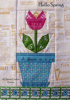 30 paper piecing garden blocks