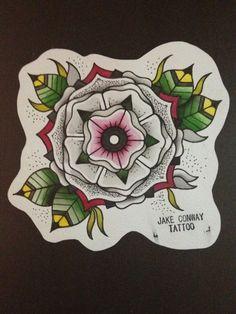 Mesmerizing patterns and colors - love it Art Deco Tattoo, Nouveau Tattoo, Tattoo Flash Art, Flash Tattoos, Cover Up Tattoos, Love Tattoos, Body Art Tattoos, Tatoos, Old School Tattoo Designs