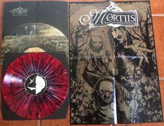 """The Great Corrupter LP """"Norway Gone Bad"""" splatter vinyl. 99 copies made. Gates Of Hell, Hieronymus Bosch, Lp, Norway, Poster Prints, Purple, Artwork, Color, Design"""
