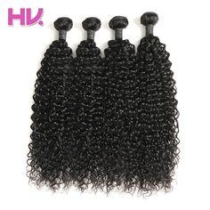 Hair Villa Brazilian 100% Unprocessed Human Hair Bundles 4pcs Water Wave Hair Weft Natural Color Salon Longest Hair PCT 20%