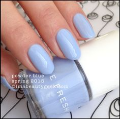 Joe Fresh Powder Blue  - Spring 2015. Click on thru for collection swatches!