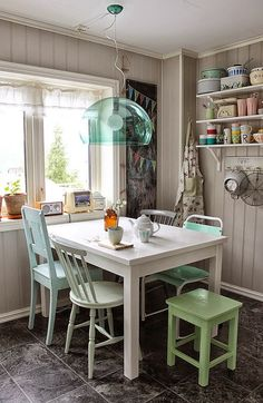 Uma vintage casa na Noruega