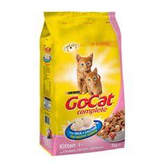 Go-Cat Chicken Milk and Vegetable Kitten Cat Food 2kg