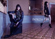 patrycja gardygajlo by oskar cecere for patrizia pepe f/w 13.14 #down #jacket #fashion #photography #ad #campaign