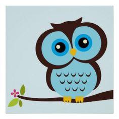 Simple Owl Drawings | cartoon owl by heartlocked