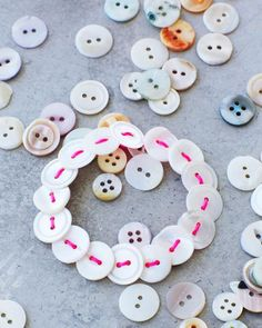 Use up spare buttons and make your own pretty bracelet with this DIY from Lova at Sweet Paul.