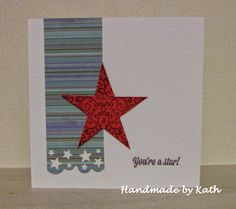 Handmade by Kath: You're a Star!