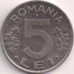 Wertseite: Münze-Europa-Südosteuropa-Rumänien-Leu-5.00-1992-2005