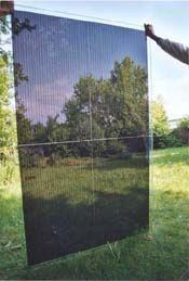 Doorzichtige zonnepanelen