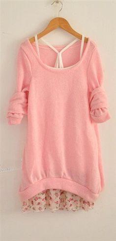 $19 Cotton Women Sweater  Camisole Set 2Pcs