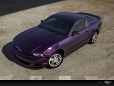 my dream car...a purple ford mustang.     Yes!!!  Exactly like mine!!!  Love it!