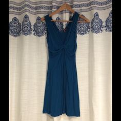 Blue summer dress NWOT Never worn except to try on. Stretchy soft summer dress, flowy and comfortable. Great basics staple for summer. Forever 21 Dresses Mini