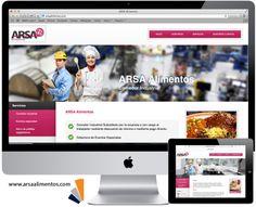 Les presentamos nuestro más reciente proyecto de página web para ARSA Alimentos.   www.arsaalimentos.com  #Saltillo #ComedoresIndustriales #Coahuila
