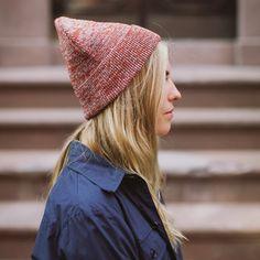 Yellow108 | Sustainable Headwear + Accessories - Mystery Beanie - Rust
