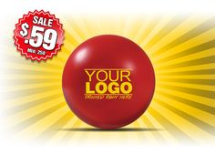 What's Hot Now? Looking for the cheapest deal on promotional round stressballs, well we have it here at The Executive Advertising. No Setup Fees and yes the lowest possible price on our Customized Round Stressballs, perfect for any trade show, company handout or promotional giveaway. Stock up now because this sale won't be around for ever. Buy 250 Round Stress balls for just $.59/each and when you order more, these promotional round stressballs are only $.49/each