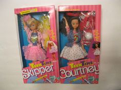 Mattel Teen Time Skipper Teen Time Courtney 1988 | eBay Barbie Sisters, Barbie Family, Barbie Dream, Barbie Dolls, Childhood Toys, Childhood Memories, Barbie Collection, Back In The Day, Nostalgia