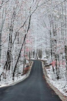 Gatlinburg, Tennessee in Winter
