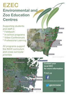 Environmental Centres - The Department has 25 Zoo and Environmental Education Centres located around NSW. They provide various programs to visiting school groups depending on the unique features of their location.  Programs offered are linked to NSW syllabus documents and stage groups.  Pre- and -post excursion support materials are provided. The teachers from the Centres can also work in schools to support school-based environment programs. Sustainability Education, Environmental Education, Student Leadership, Student Learning, Training School, Education And Training, Botany Bay, Cross Curricular, Sustainable Practices