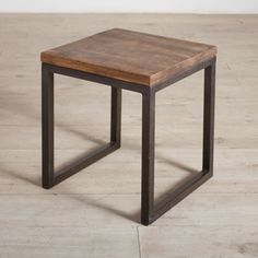 @Overstock - This iron side table is the perfect place to display that sophisticated new lamp or pretty pot of flowers. Stick this durable furniture next to your sofa or beside your bed for a stylish way to hold your favorite collectibles and electronics.http://www.overstock.com/Worldstock-Fair-Trade/Cordova-Reclaimed-Wood-and-Iron-Side-Table-India/7254623/product.html?CID=214117 $174.99