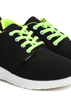 Czarno-Zielone Buty Sportowe Seel - born2be.pl Sneakers, Clothes, Shoes, Fashion, Tennis, Outfits, Moda, Slippers, Clothing