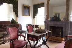 Somerset Plantation; Main Sitting Room in plantation house by Eden Ham, via Flickr