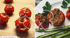 Gefüllte Quinoa-Tomaten