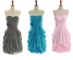 2014 bridesmaid dress chiffon bridesmaid dress short by sposadress, $89.00