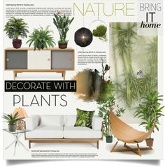 """Bring it Home: Nature"" by nyrvelli on Polyvore"