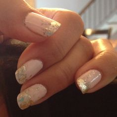 gold leafing tips