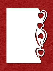 Karte mit Herzen Stencil Patterns, Stencil Designs, Kirigami, Wedding Cards Handmade, Valentine's Day Greeting Cards, Silhouette Cameo Projects, Pop Up Cards, Cricut, Dremel