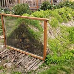Learn about the benefits of Hugelkultur raised beds and how to make your own.