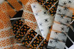 MINI SET  Halloween Washi Tape Stickers / by TrulySimplePlanners, $1.00