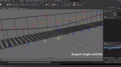 Rope Bridge Rig. This is the rope bridge I created as the final project of the Props course through Rigging Dojo. The controls can slide up ...