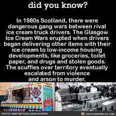 Who would have thought the fight over ice cream was so savage? #wow #icecream #history #crazy Share the helpful knowledge! Tag your friends…