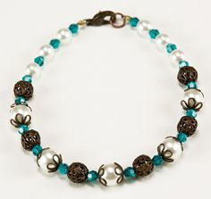 vintage bracelets | Jewelry Making Idea: Blue Zircon Vintage Bracelet