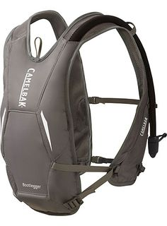 The Bootlegger is a lift-friendly, low-profile hydration pack that fits under your ski jacket.