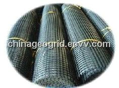 PVC Coated Polyester Geogrid 60-30KN 80-30KN 150-30KN 200-200KN 300-300KN/Bitumen Coated PET Geogrid (PET-100-50 50-50 80-30 120-30 60-30...