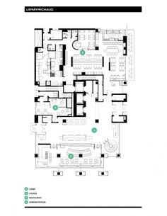 Germain Calgary Hotel floor plan architecture design