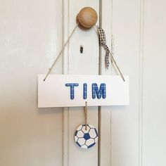 Are you interested in our Football Door Plaque ? With our Personalised football room sign you need look no further.
