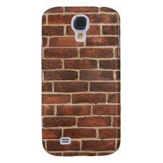Bricks Samsung Galaxy S4 Cases. #zazzle #samsunggalaxy #samsunggalaxyS4case