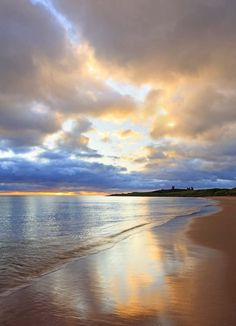Dunstanburgh Castle, Northumberland Coast, UK