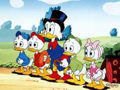 Duck Tales I remember watching this show as a kid and thinking wow my family in cartoons