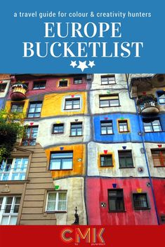 A colourful guide to visiting Europe by Jayne Kitsch for CMK. Click through for inspiration and ideas for your next travels. Backpacking Europe, Europe Travel Tips, Travel List, European Travel, Places To Travel, Europe Bucket List, Living In Europe, Vienna Austria, Beautiful Buildings